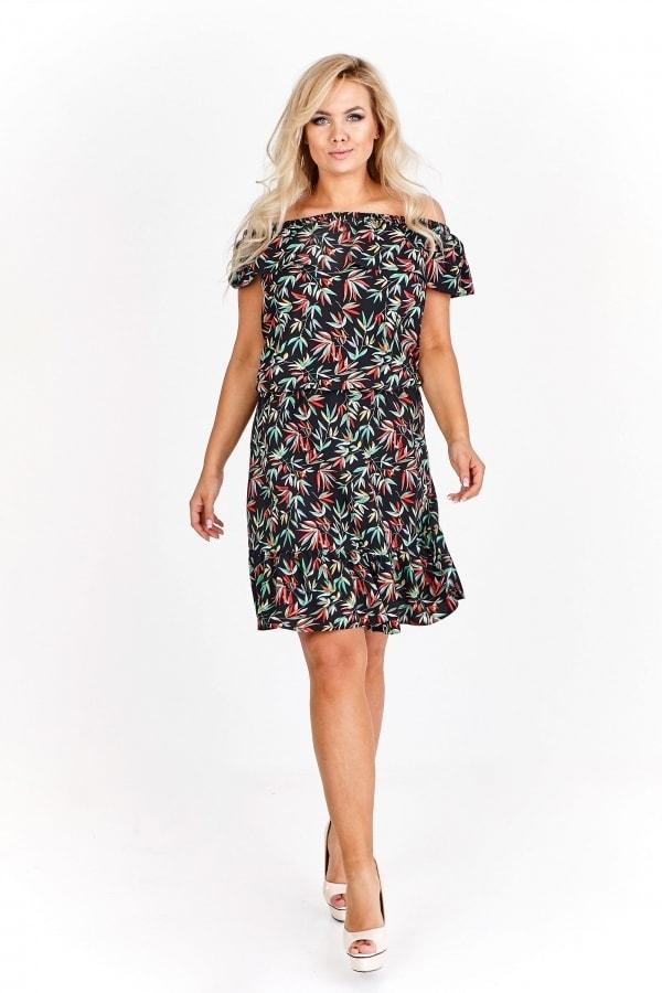 Letní dámské šaty plus size Ptakmoda pt-sat1524