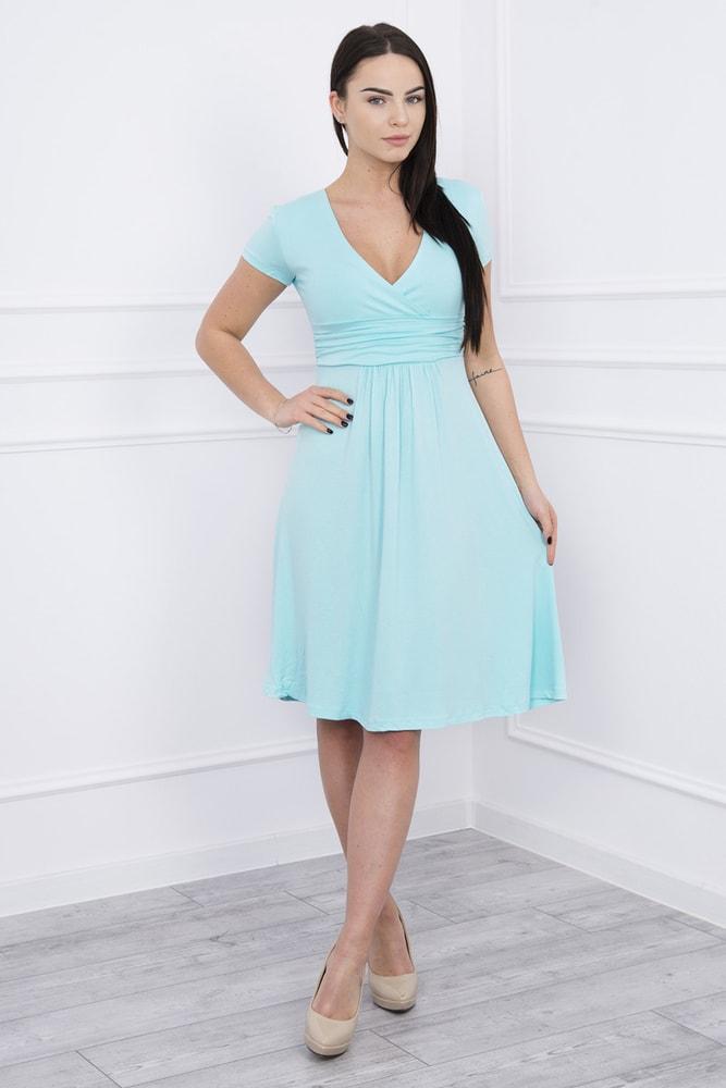 Elegantné šaty s krátkymi rukávmi - Kesi - Krátke letné šaty - vasa ... e299b168284