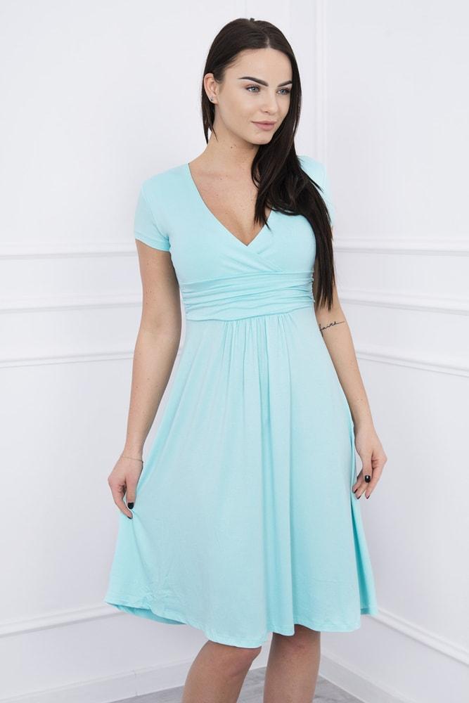 Elegantné šaty s krátkymi rukávmi - Kesi - Krátke letné šaty - vasa ... cc70aeb48cf