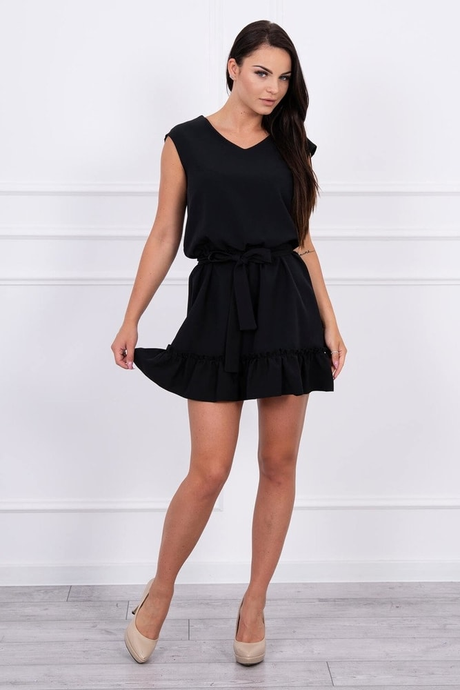 Čierne mini šaty - Kesi - Krátke letné šaty - vasa-moda.sk abe5bab2c59