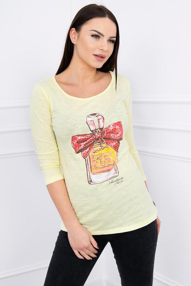 Dámske tričko s potlačou Kesi ks-tr51384sge