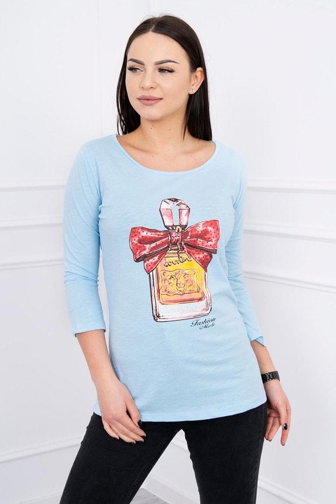 Dámske tričko s potlačou Kesi ks-tr51384smo
