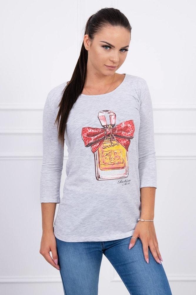 Dámske tričko s potlačou Kesi ks-tr51384sgr