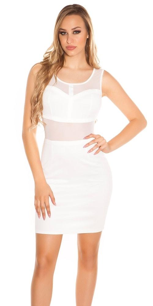 Dámske mini šaty Koucla in-sat1845wh