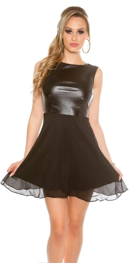 Spoločenské dámske šaty Koucla in-sat1463bl
