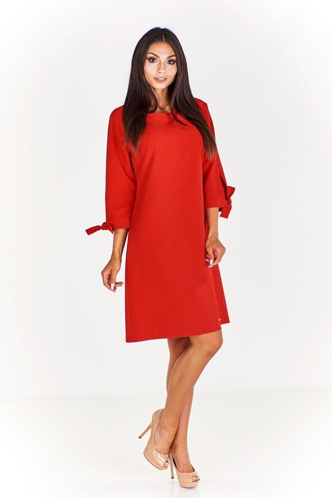 Červené pouzdrové šaty - Ptakmoda - Večerní šaty a koktejlové šaty - i ... 061c6b4ef8