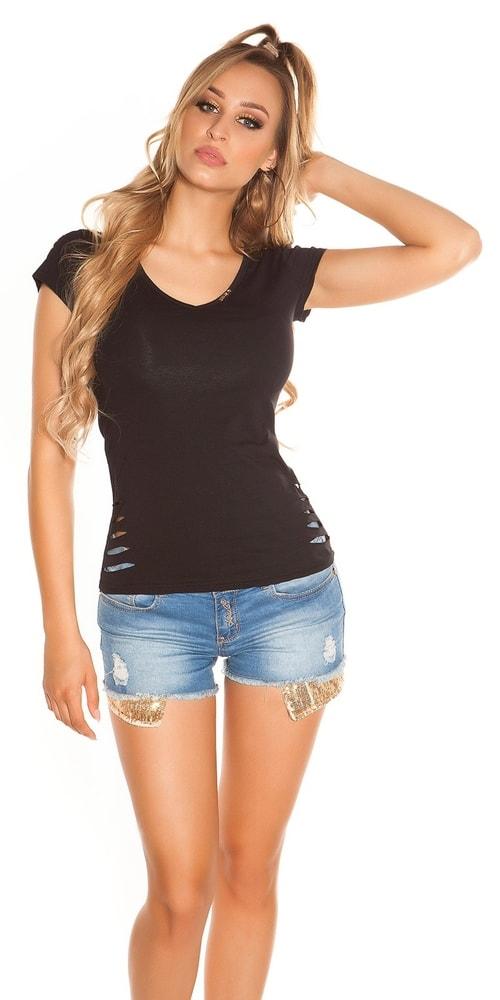 c570ee784235 Dámské letní tričko - S M Koucla in-tr1113bl