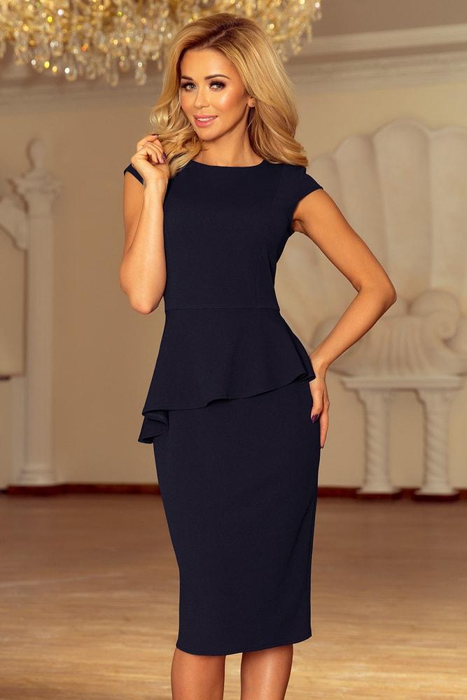 Elegantní midi šaty - Numoco - Puzdrové šaty - vasa-moda.sk 20e360c4e48