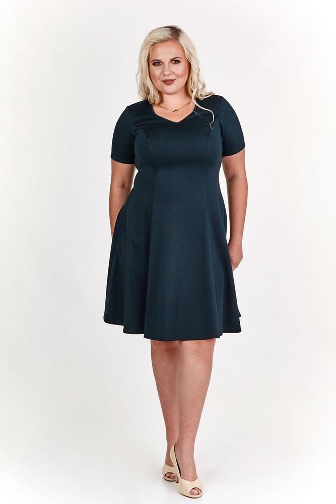 Koktejlové šaty pro plnoštíhlé - Ptakmoda - Společenské šaty pro ... 84ad70f7e56