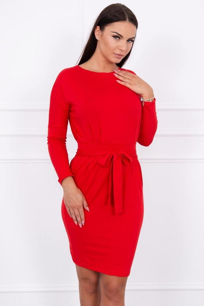 Dámské červené šaty - XXL Kesi ks-sa8926re