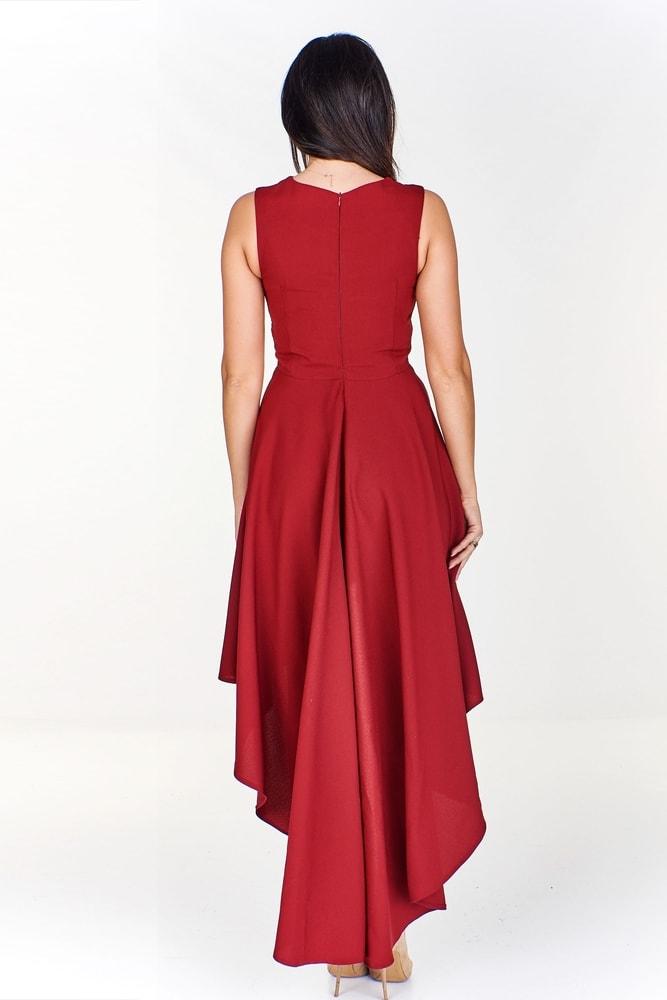 Asymetrické dámske šaty - Ptakmoda - Večerné šaty a koktejlové šaty ... 7ec3c9a71e1