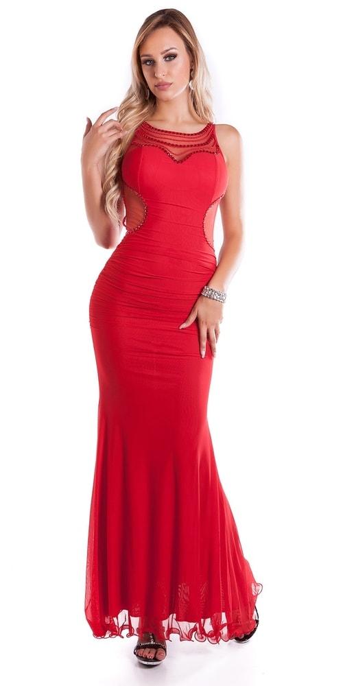 894f0daacd8 Dlouhé plesové šaty - II. jakost - Koucla - Výprodej oblečení II. jakost -  i ...