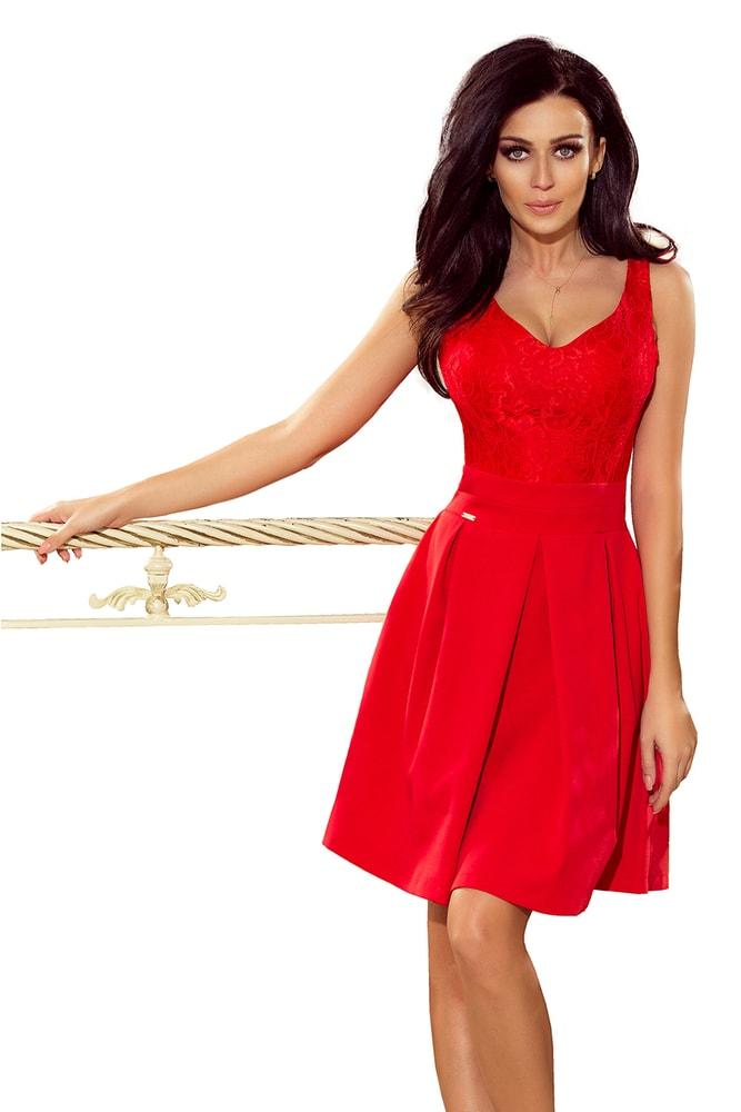 cc06dc994b02 Červené spoločenské šaty - L Numoco nm-sat208-2