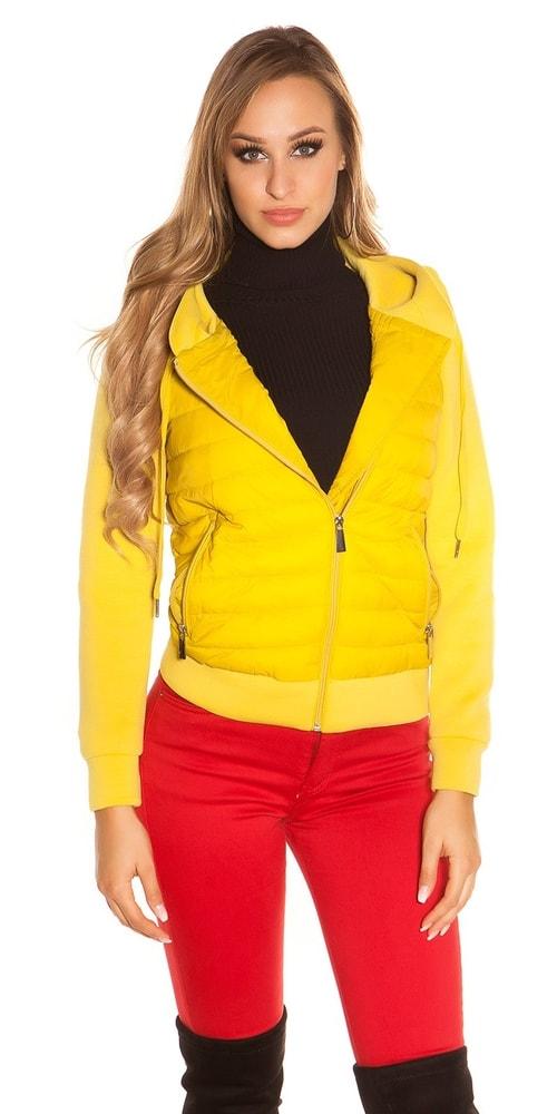 Dámska bunda s kapucňou - XL Koucla in-bu1015ge
