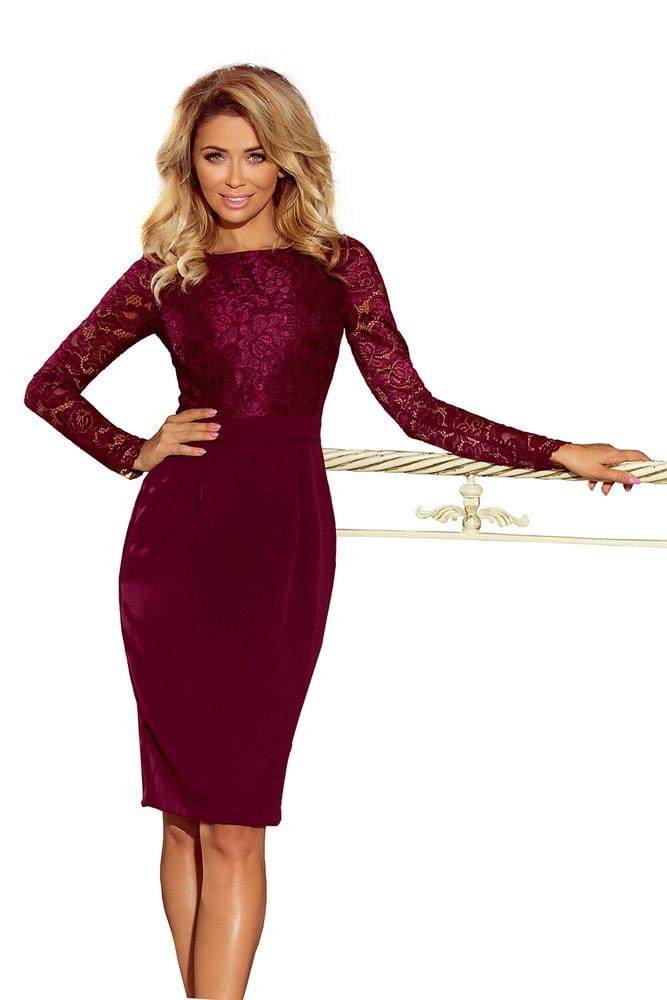 Společenské dámské šaty - L Numoco nm-sat216-3