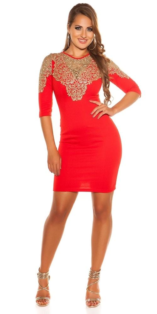 Večerné červené šaty - Koucla - Večerné šaty a koktejlové šaty ... 7edcfa84d6