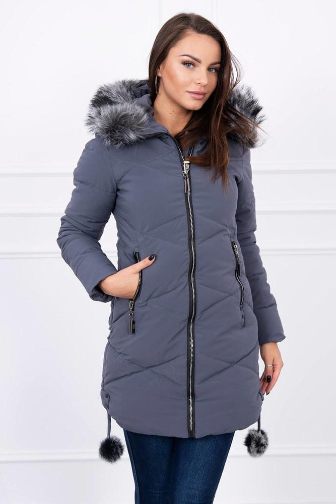 Zimná dámska bunda Kesi ks-bu8005tg
