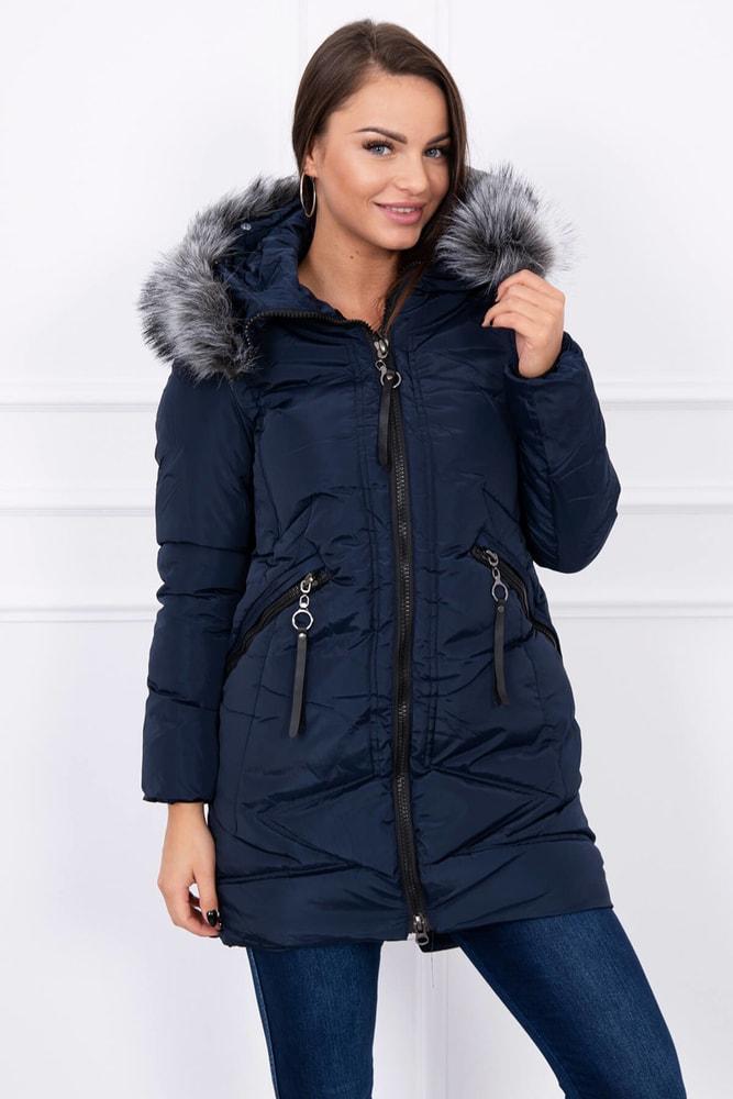 Dámska zimná bunda - Kesi - Bundy dámske zimné - vasa-moda.sk 54fb6a6177c