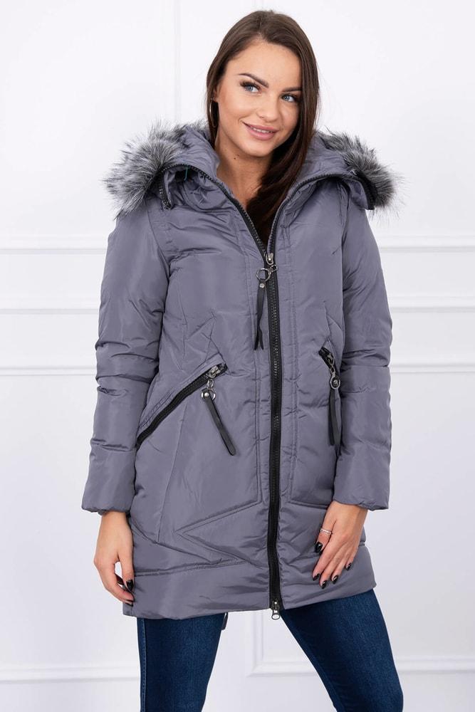 Dámska zimná bunda - XXL Kesi ks-buA02tg