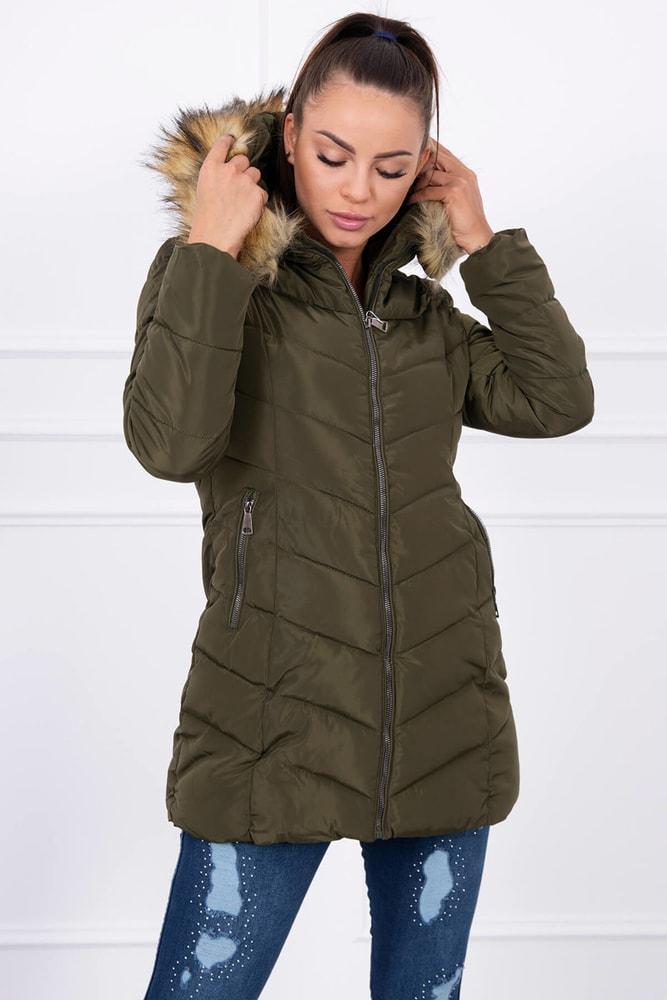 Zimná bunda s kapucňou - 3XL Kesi ks-bu1807kh