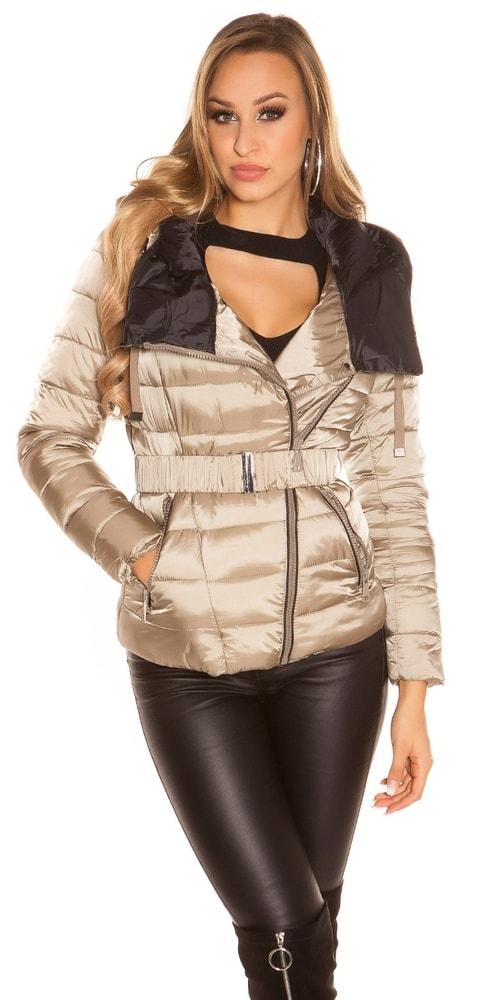 Dámska zimná bunda s kapucňou - XL Koucla in-bu1019ca