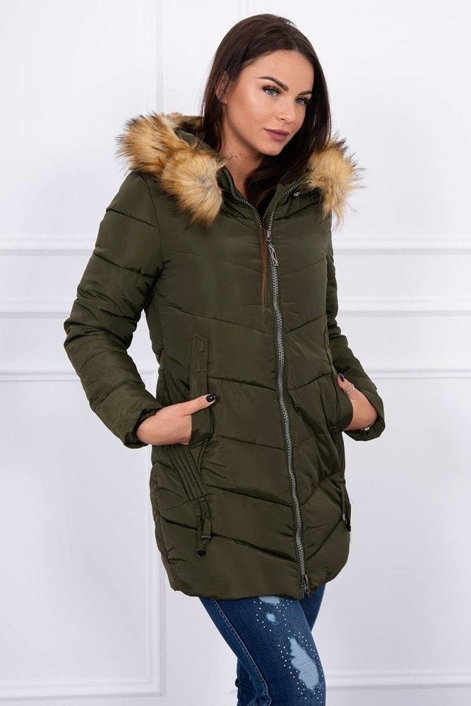 Zimná dámska bunda - XXL Kesi ks-bu89-01kh