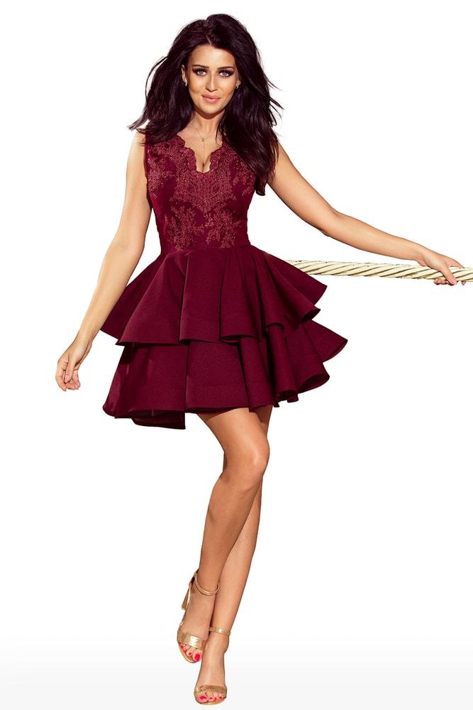 e35a8bfe575 Krátké plesové šaty - Numoco - Večerní šaty a koktejlové šaty - i-moda ...
