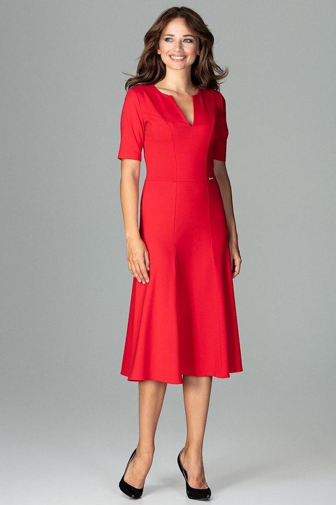 Dámske elegantné šaty - Ptakmoda - Šaty pre voľný čas - vasa-moda.sk 0b60bb948d7