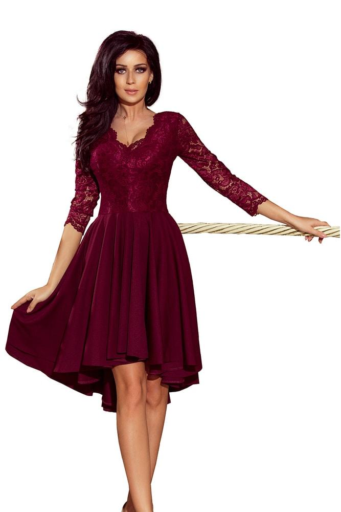 Spoločenské šaty s čipkou - Numoco - Večerné šaty a koktejlové šaty ... ff7d8b708ef