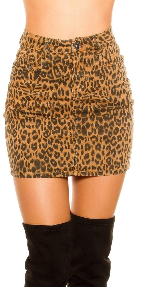 Dámská mini sukně Koucla in-su1016leo