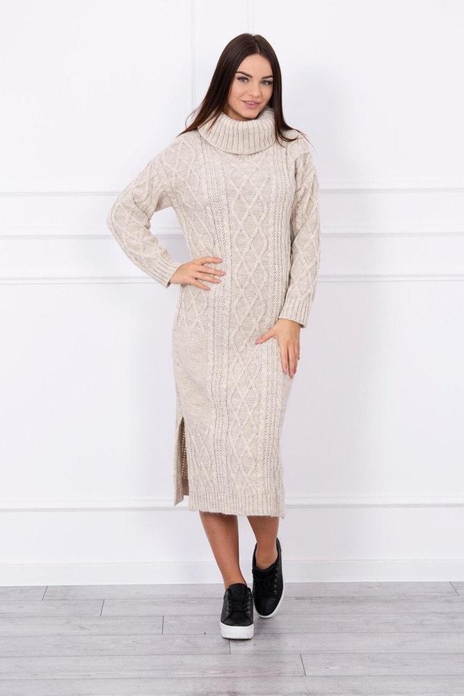 Dámske pletené šaty - Kesi - Úpletové šaty - vasa-moda.sk 912d1ae5923
