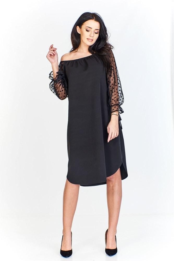 Elegantní černé šaty - Ptakmoda - Večerní šaty a koktejlové šaty - i ... 3ac7f0c2e4