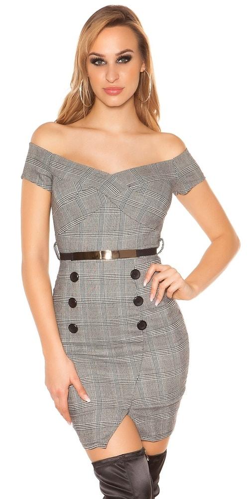 Dámské elegantní mini šaty - Koucla - Denní šaty - i-moda.cz e06f0be6d9