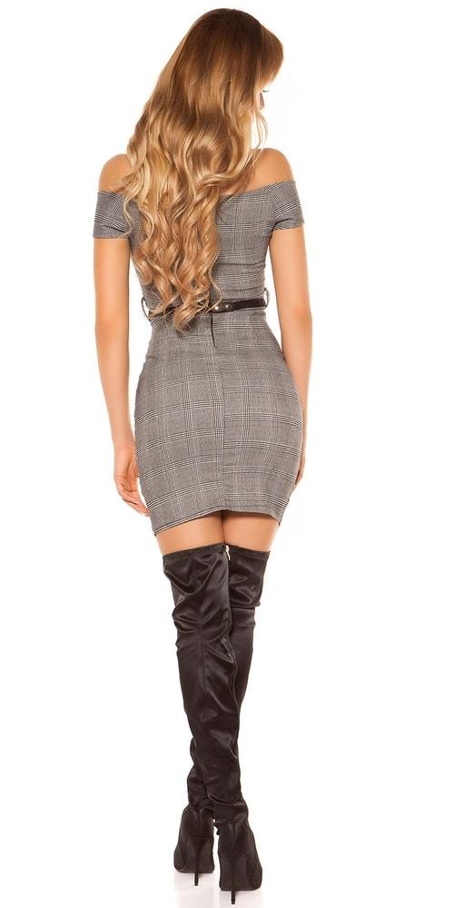 Dámské elegantní mini šaty - Koucla - Šaty pre voľný čas - vasa-moda.sk 07a145a82f4