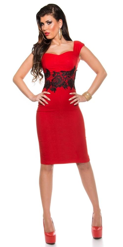 Večerné šaty červené - Koucla - Večerné šaty a koktejlové šaty ... 916e9c27387