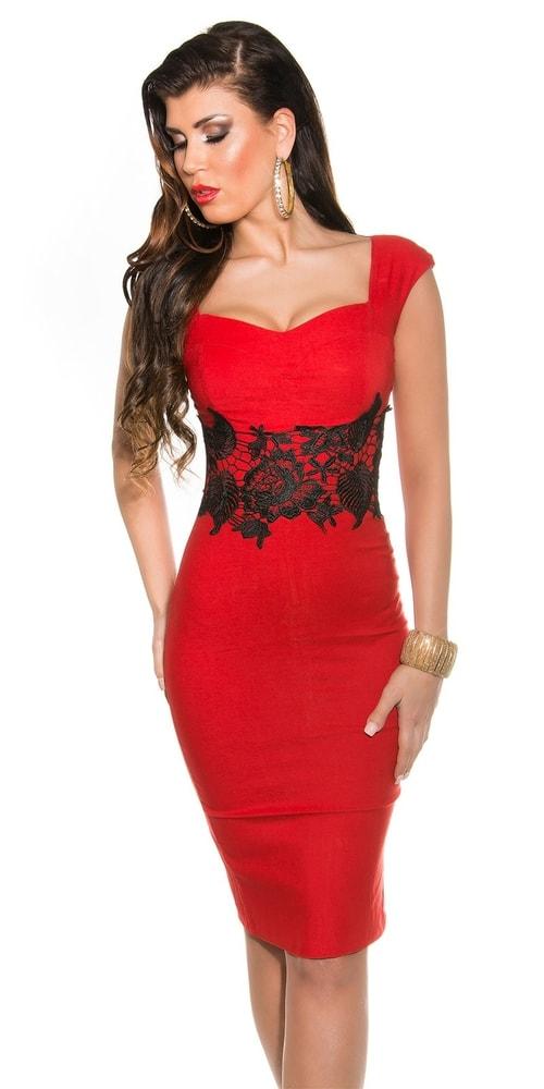 Večerné šaty červené - Koucla - Večerné šaty a koktejlové šaty - vasa ... a5cd5198749