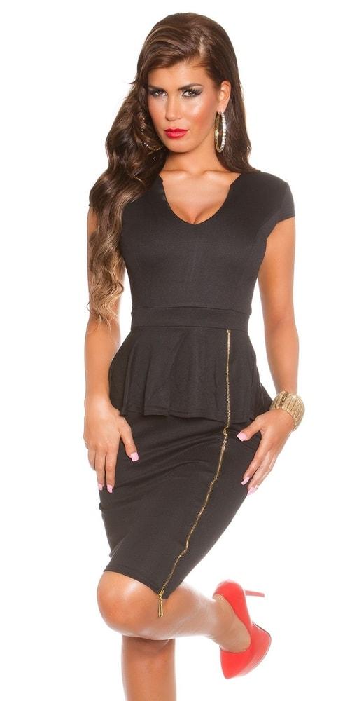 Čierne spoločenské šaty - Koucla - Večerné šaty a koktejlové šaty ... b2a1139dced