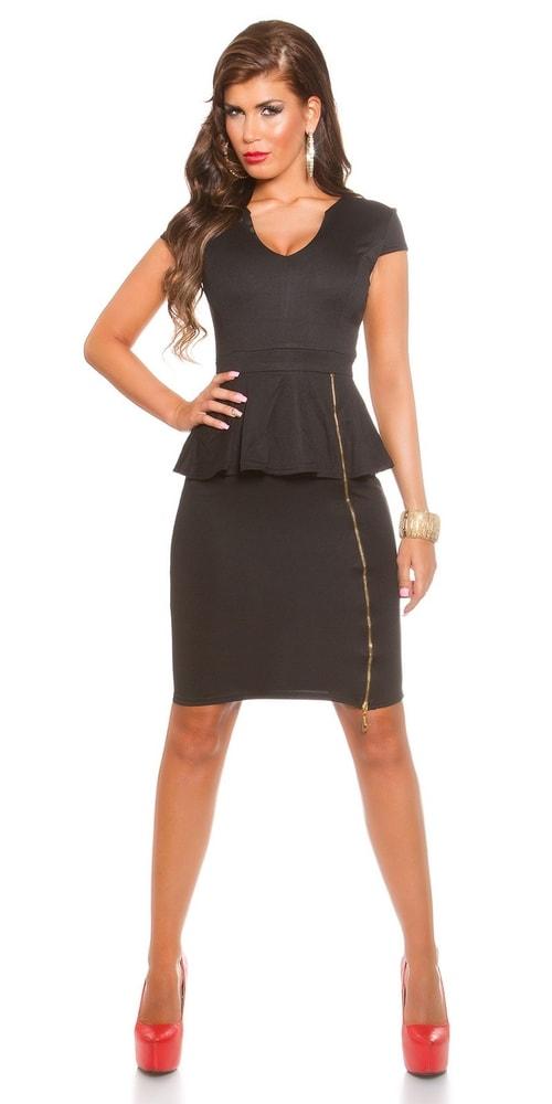 Čierne spoločenské šaty - Koucla - Večerné šaty a koktejlové šaty ... b4a46a5c07