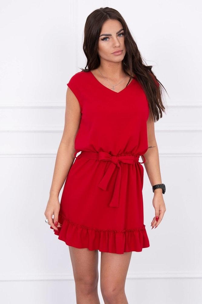 ebde4ddba7c Červené šaty - Kesi - Krátké letní šaty - i-moda.cz