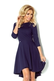 Asymetrické dámske šaty 90-1 7bfcd9e110