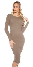 Úpletové šaty - vasa-moda.sk 4e7cae6e0b6